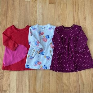 Old Navy Cat & Jack 12-18M Sweater Dresses